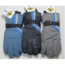 Горнолыжные перчатки. Z-1611. Подросток - унисекс