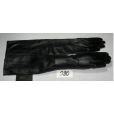Mei 080. Кожа, подкладка:  шерстяной трикотаж (шерстяная вязка). Длинна: 50 см. Размер: 6+8 .